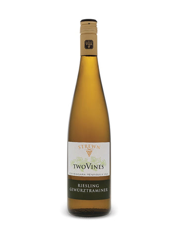 Strewn Two Vines Riesling Gewurztraminer VQA 750ml