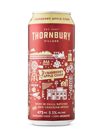 Thornbury Craft Cranberry Cider 473ml