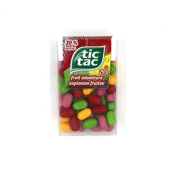Tic Tacs Fruit Adventure 29g