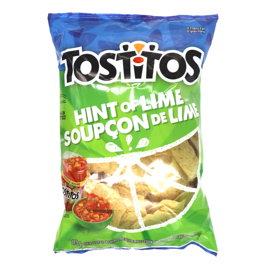 Tostitos Hint Of Lime 275g