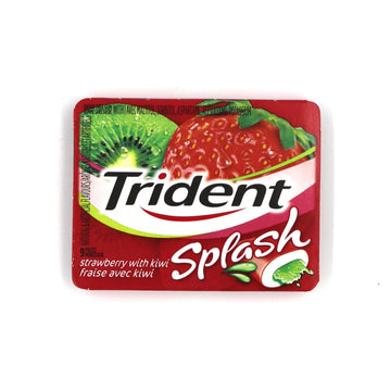 Trident Strawberry With Kiwi Splash