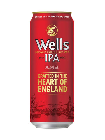 Wells IPA 500ml