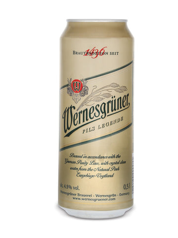 Wernesgruner Pilsner 500ml