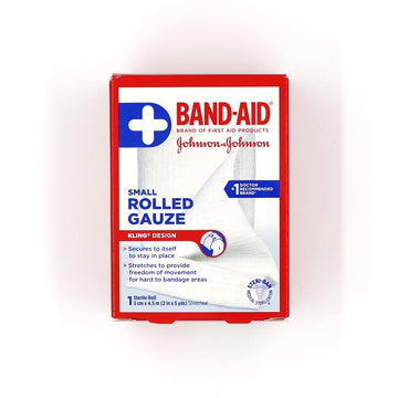Band-Aid Rolled Gauze 2in x 5yards