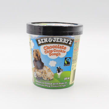 Ben & Jerry's Chocolate Chip Cookie Dough 500ml