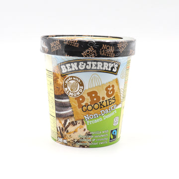 Ben & Jerry's Peanut Butter and Cookies Non-Dairy 500ml