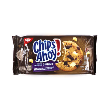 Chips Ahoy! Triple Chocolate Chunk 300g