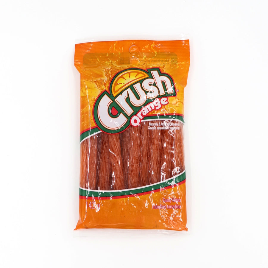 Candy twists Crush Orange 142g