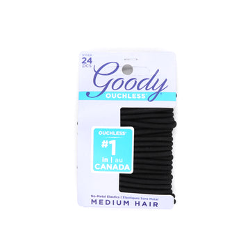 Goody Non-Metal Hair Elastics 24pcs