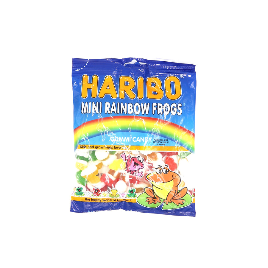 Haribo Mini Rainbow Frogs 142g