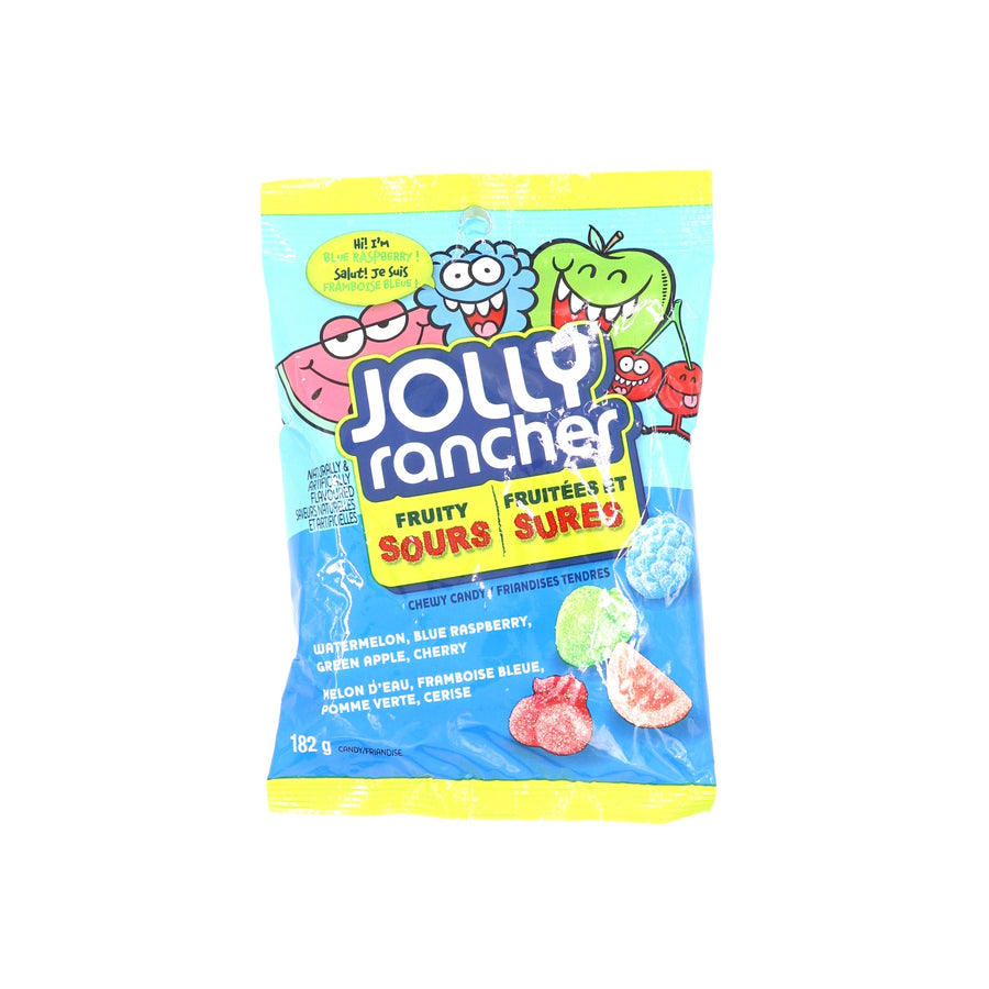 Jolly Rancher Fruity Sours 180g