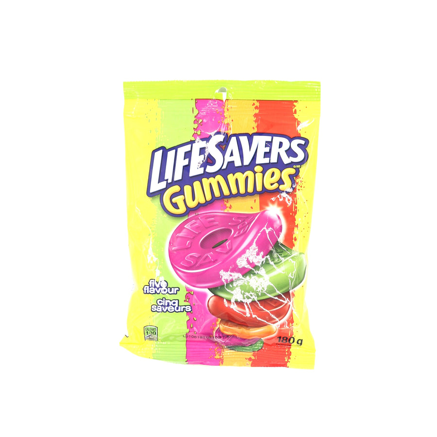 Lifesavers Gummies Five Flavour 180g