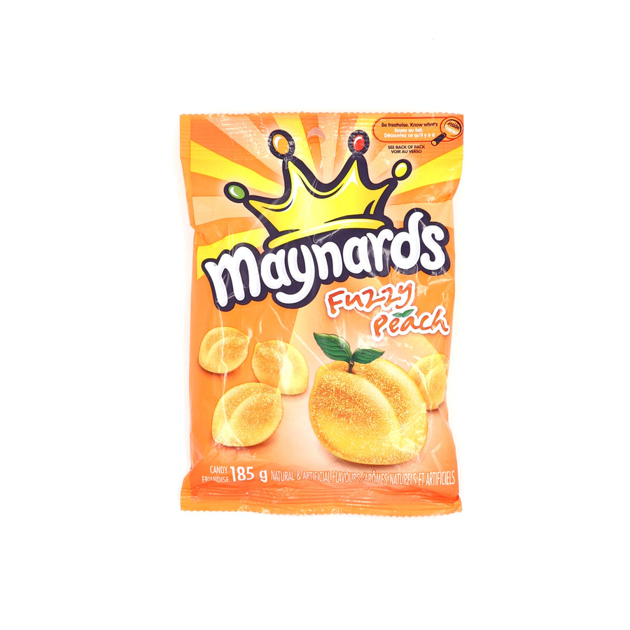 Maynards Fuzzy Peach 185g