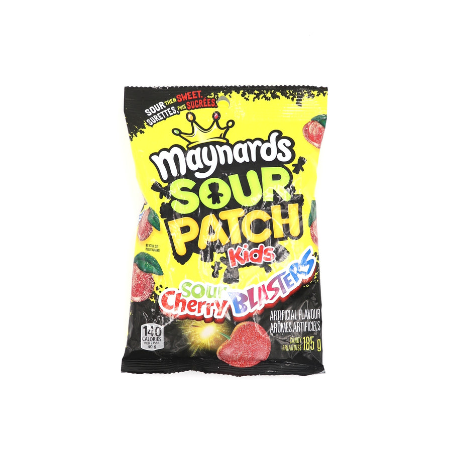 Maynards Sour Patch Kids Sour Cherry Blasters 185g