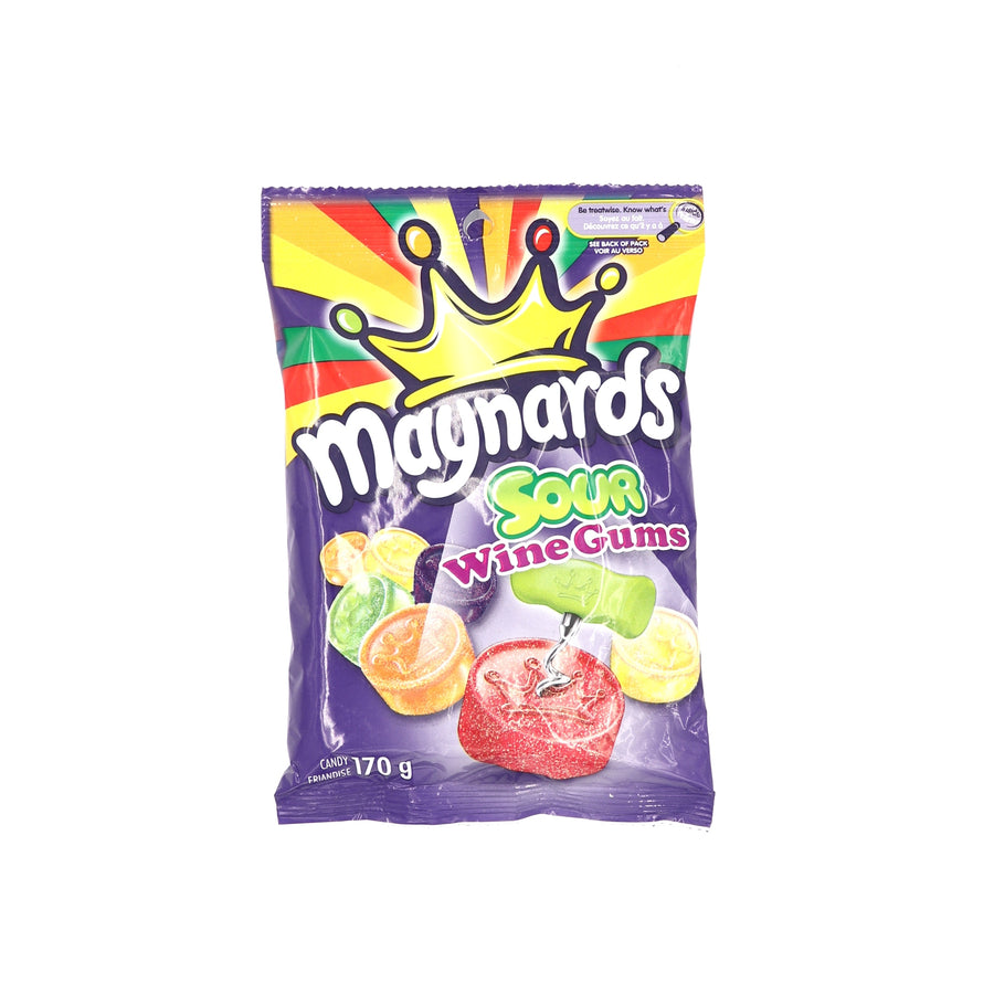 Maynards Sour Wine Gums 170g