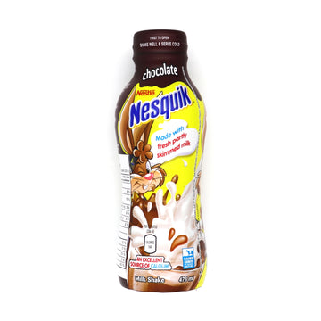 Nestle Nesquik Chocolate Milk Shake