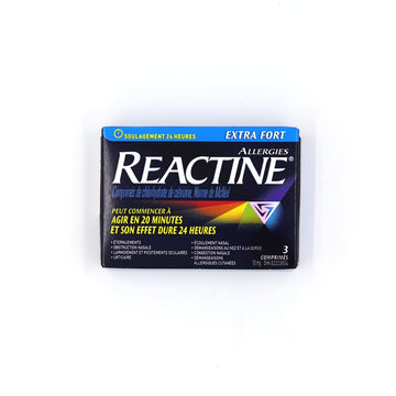 Reactine 3 Tablets