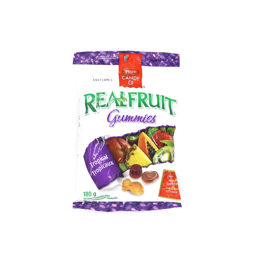 Realfruit Gummies Tropical 180g