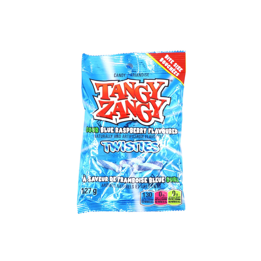Tangy Zangy Twisties Blue Raspberry 127g