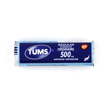 TUMS Peppermint 500mg 12 Tablets
