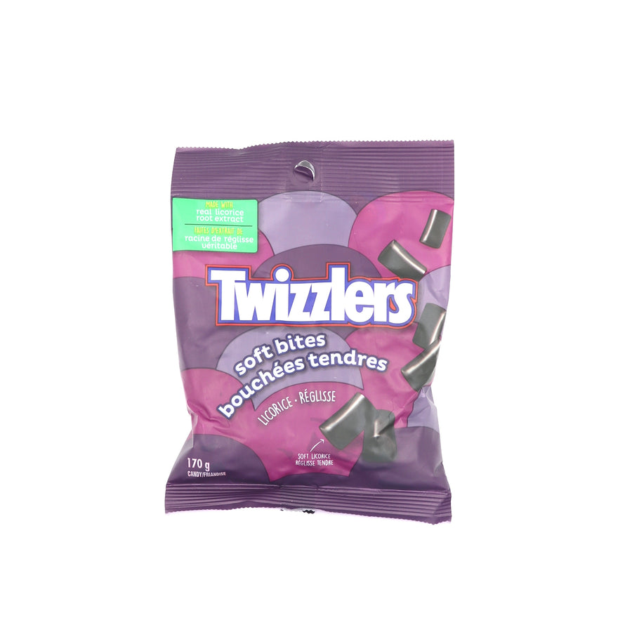 Twizzlers Soft Bites Licorice 170g
