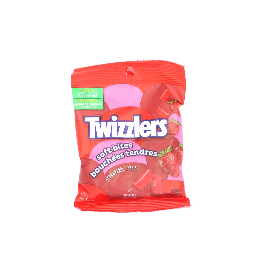 Twizzlers Soft Bites Strawberry 170g