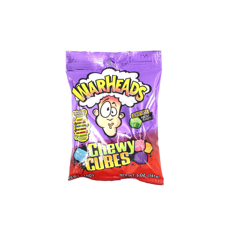 Warheads Chewy Cubes 141g