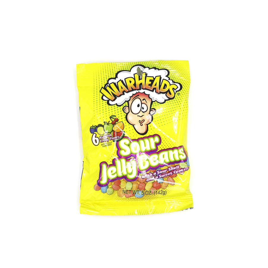 Warheads Sour Jelly Beans 142g