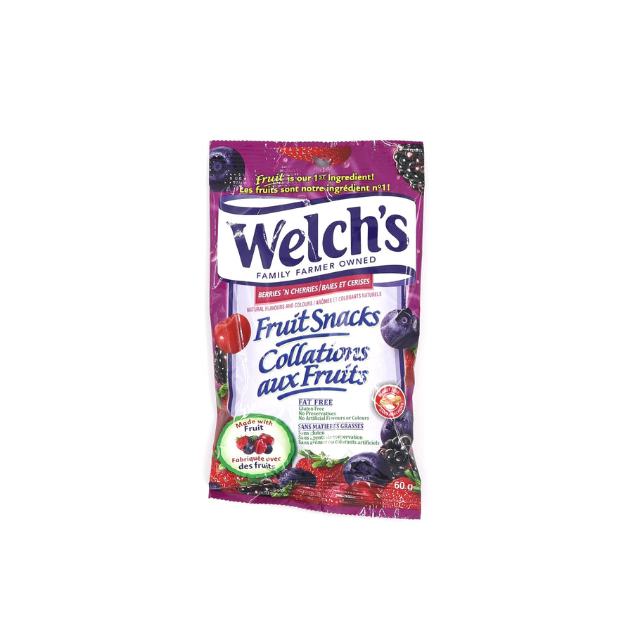 Welch's Berries 'N Cherries 60g