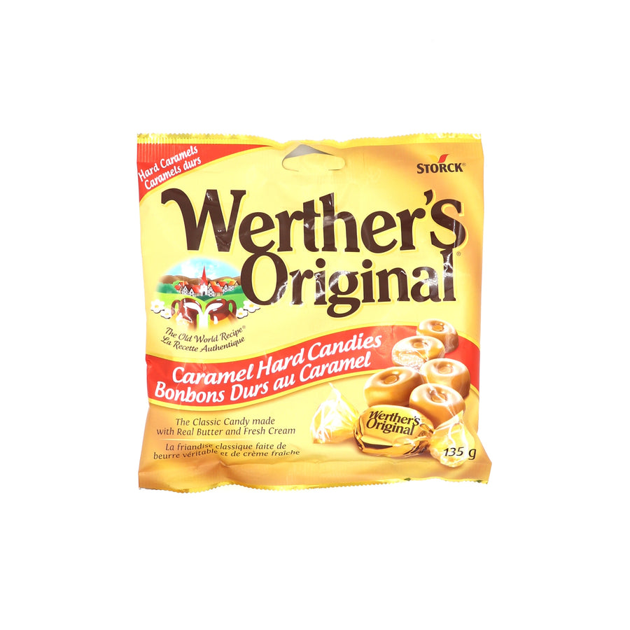 Werther's Original Caramel Hard Candies 135g