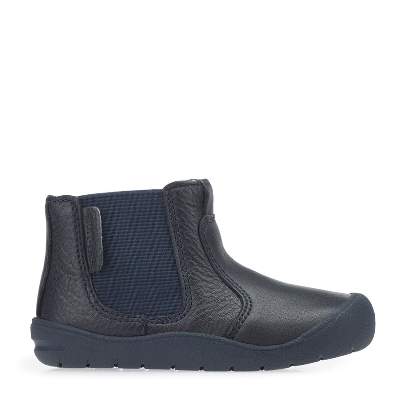 Start-Rite First Chelsea Navy Leather