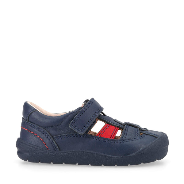Start-Rite Bumble Navy Shoe