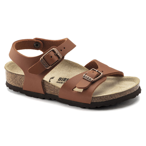 Birkenstock Rio Ginger Brown Kids