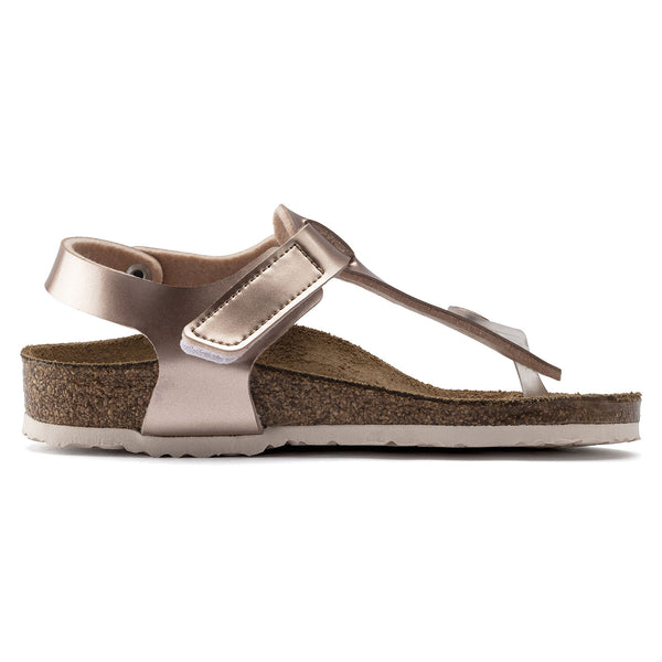 Birkenstock Kairo Metallic Copper Kids