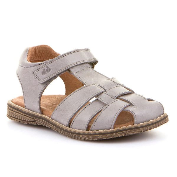 FRODDO CLOSED TOE SANDAL GREY G3150101-1