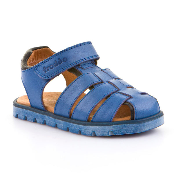 FRODDO CLOSED TOE SANDAL ELECTRIC BLUE G3150105