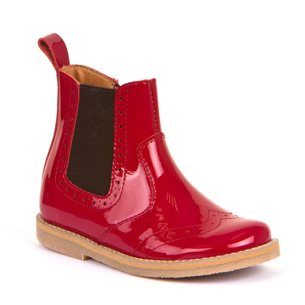 Froddo Red Patent Boot G3160100-10