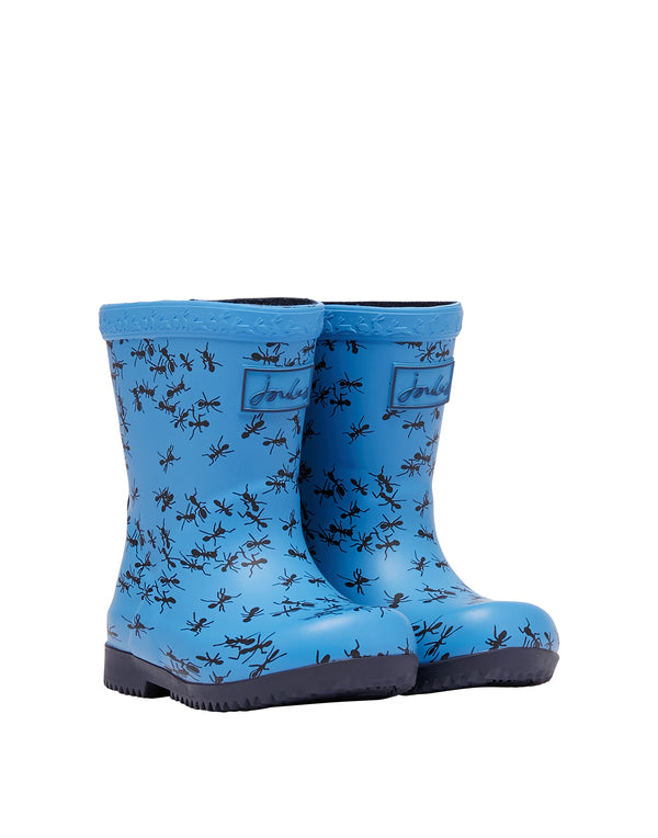 Joules baby welly blue ants
