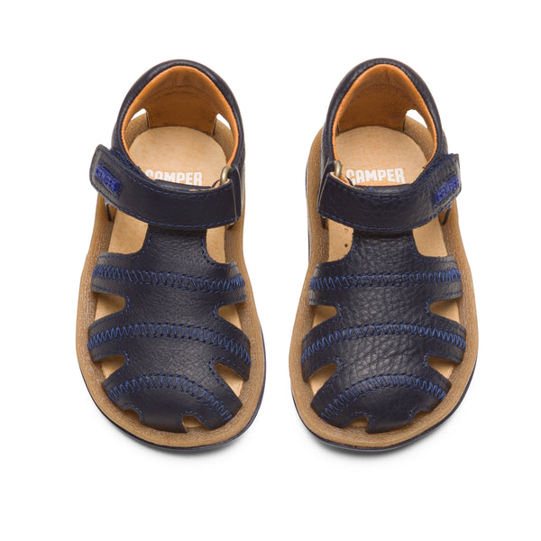 Camper Bicho Navy Closed Sandal