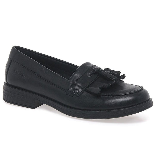 Geox Agata Tassle Loafer Leather