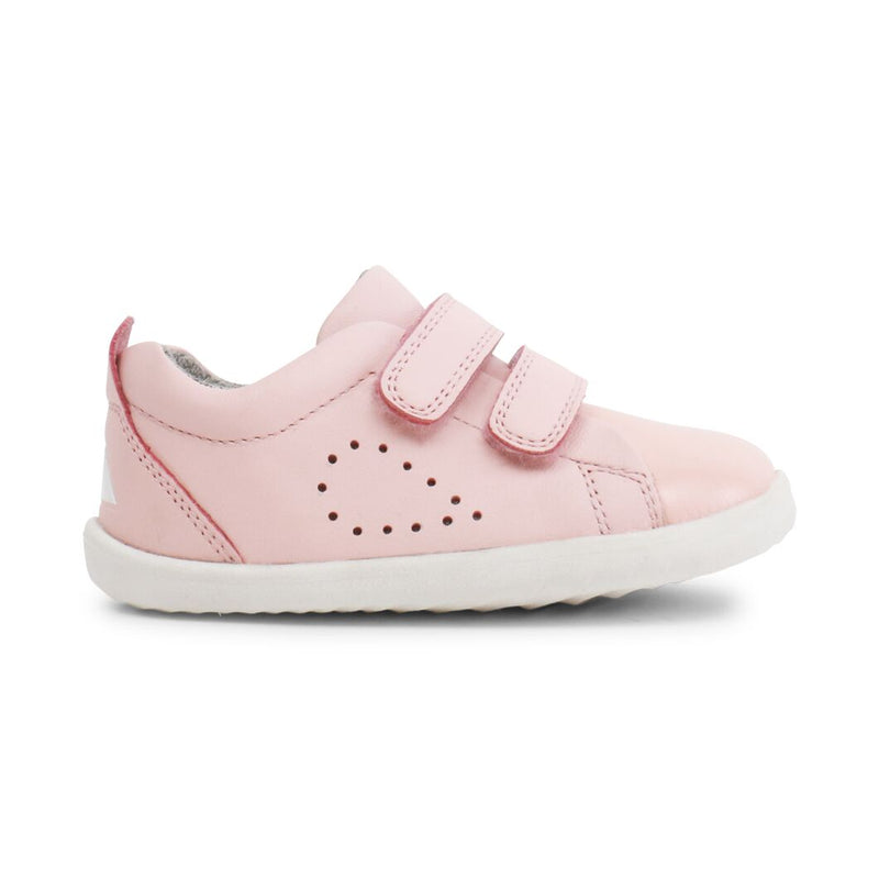 Bobux Step Up Grass Court Seashell Pink Shoe