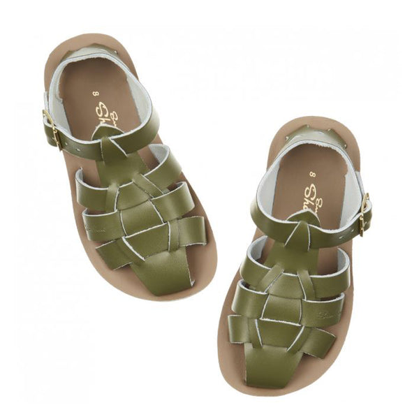 Salt-Water Shark Kids Olive