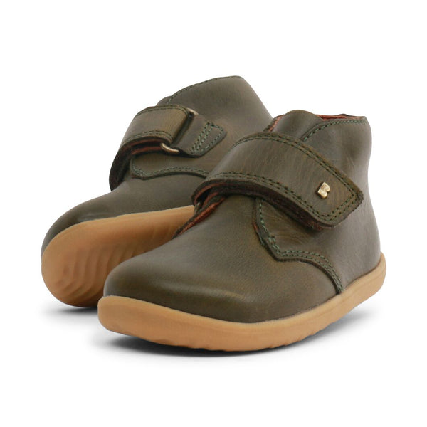 Bobux Step Up Desert Boot Olive