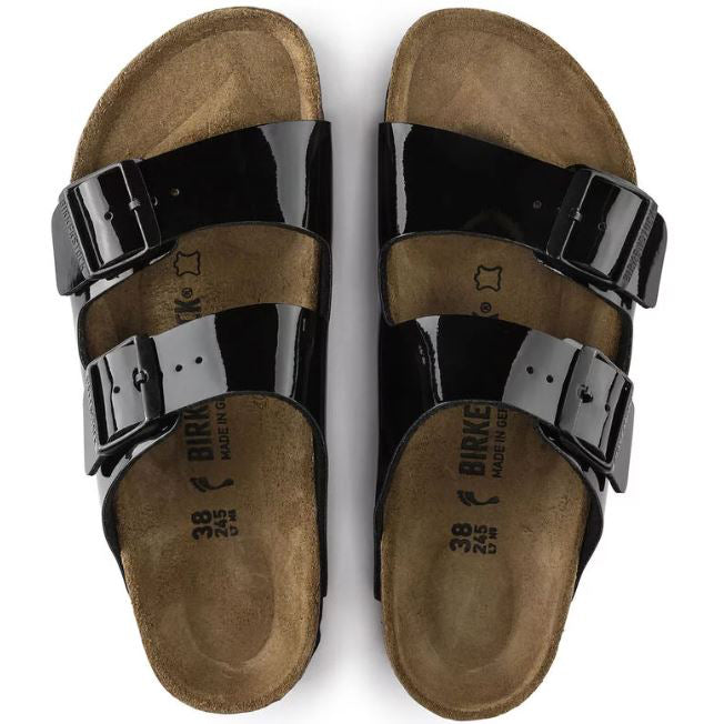 Birkenstock Arizona Black Patent