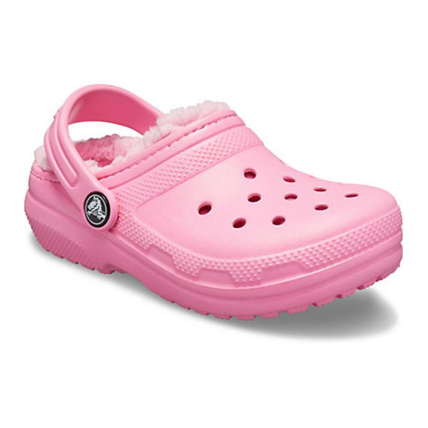 Crocs Classic Lined Kids Pink Lemonade