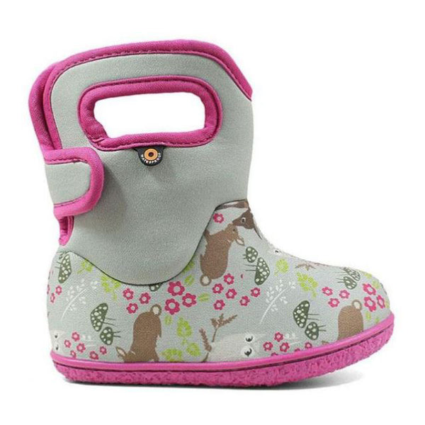 Bogs Baby Bogs Woodland Light Grey