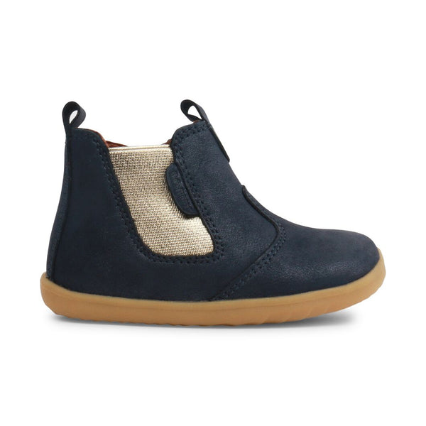 Bobux Step Up Jodhpur Boot Navy Shimmer