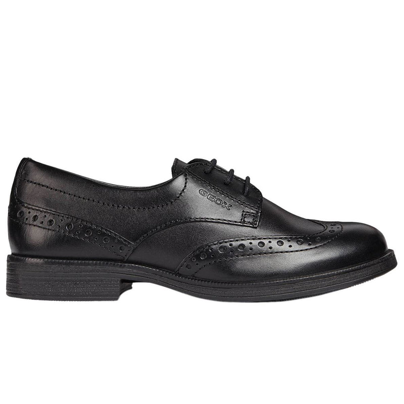 Geox Agata Leather Brogue