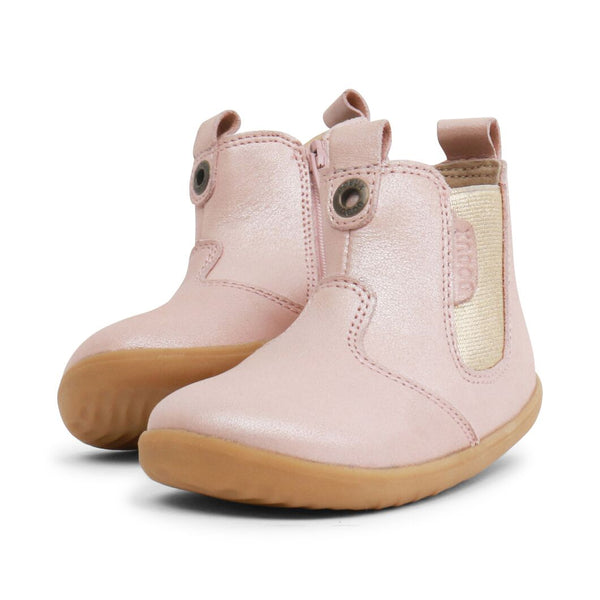 Bobux Step Up Jodhpur Boot Blush Shimmer
