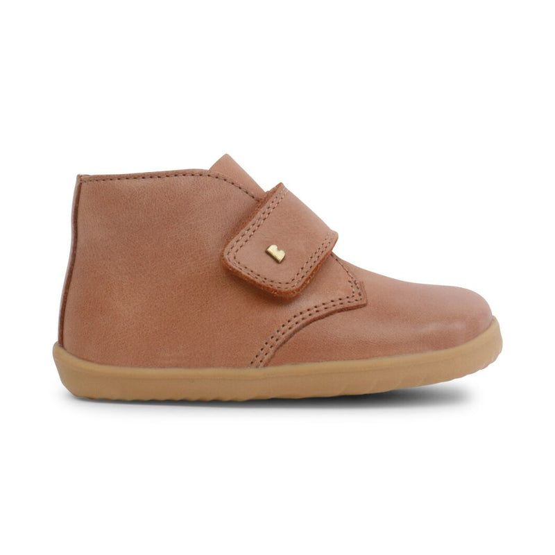 Bobux Step Up Desert Boot Caramel